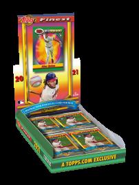 2021 Topps® Finest Flashbacks Baseball - Online Exclusive
