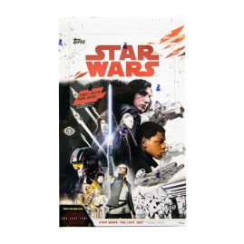Star Wars: The Last Jedi Trading Cards  sealed Dispaly Box of 24 x 8 card packets