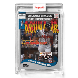 Topps Project70® Card 286 -  2002 Ronald Acuna Jr. by UNDEFEATED - PR: 3172