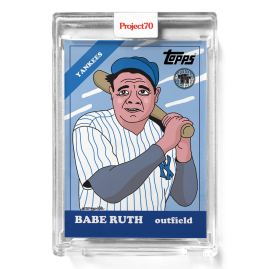 Topps Project70® Card 287 -  1966 Babe Ruth by Toy Tokyo - PR: 1175