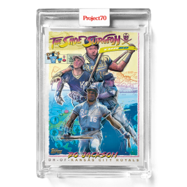 Topps Project70® Card 288 -  1995 Bo Jackson by The Shoe Surgeon - PR: 1928