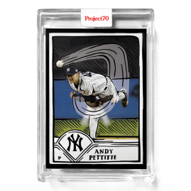 Topps Project70® Card 289 -  2003 Andy Pettitte by Joshua Vides - PR: 944