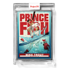 Topps Project70® Card 290 -  1998 Mike Trout by Quiccs  - Artist Proof # to 51