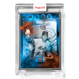 Topps Project70® Card 291 -  1982 Nolan Ryan by Mikael B  - Artist Proof # to 51