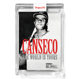 Topps Project70® Card 292 -  1986 Jose Canseco by Don C - PR: 1156