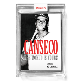 Topps Project70® Card 292 -  1986 Jose Canseco by Don C  - Artist Proof # to 51