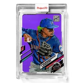 Topps Project70® Card 562 -  2021 Francisco Lindor by Jacob Rochester