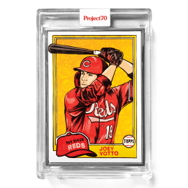 Topps Project70® Card 563 -  1981 Joey Votto by Blake Jamieson  - Artist Proof # to 51