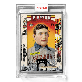 Topps Project70® Card 565 -  2006 Honus Wagner by Tyson Beck  - Artist Proof # to 51