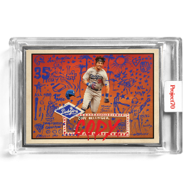 Topps Project70® Card 569 -   Cody Bellinger by Gregory Siff  - Artist Proof # to 51