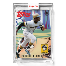 Topps Project70® Card 570 -   Roberto Clemente by Toy Tokyo - PR: 1359