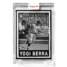 Topps Project70® Card 572 -   Yogi Berra by Joshua Vides - PR: 1014