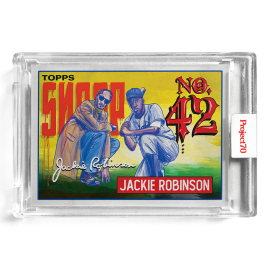 Topps Project70® Card 573 -  1993 Jackie Robinson by Snoop Dogg - PR: 1842