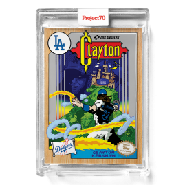 Topps Project70® Card 577 -   Clayton Kershaw by Ermsy - PR:2773