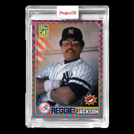 Topps Project70® Card 579 -  2001 Reggie Jackson by Claw Money - PR: 692