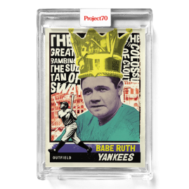 Topps Project70® Card 580 -  1976 Babe Ruth by New York Nico - PR: 927