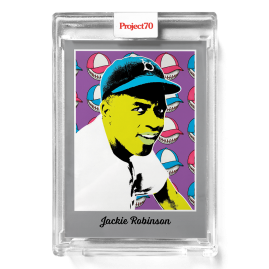 Topps Project70® Card 581 -   Jackie Robinson by Ron English - PR: 865