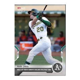 Mark Canha  - 2021 MLB TOPPS NOW® Card 866