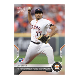 Luis Garcia  - 2021 MLB TOPPS NOW® Card 1003