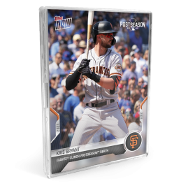 2021 San Francisco Giants TOPPS NOW® Postseason 10-Card Team Set - Autograph Edition