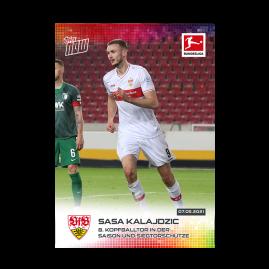 8. Kopfballtor in der Saison und Siegtorschütze  - Bundesliga TOPPS NOW® Card #181