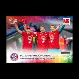 9. Deutsche Meisterschaft in Folge  - Bundesliga TOPPS NOW® Card #182
