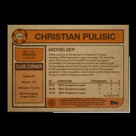 Topps UK - UCL Living Set Card #334 - Christian Pulisic