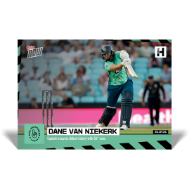 Captain secures debut victory with 56* runs - The Hundred TOPPS NOW® UK Card #2