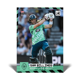 Impressive 49* runs helps secure victory - The Hundred TOPPS NOW® UK Card #3