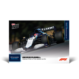 Highest finish of the season so far - F1 TOPPS NOW® DE Card #22