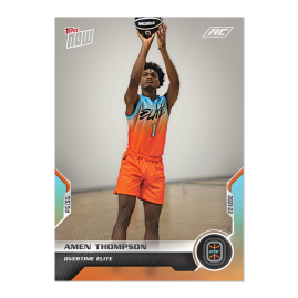 4-Card Bundle - 2021 Overtime Elite TOPPS NOW® Debut Cards: 17-20