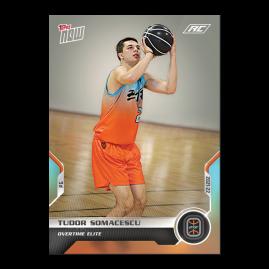 Tudor Somacescu  - 2021 Overtime Elite TOPPS NOW® Debut Card D-19