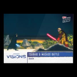 2021 Star Wars Visions TOPPS NOW® - 5-Card Pack - Akakiri