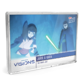 2021 Star Wars Visions TOPPS NOW® - 5-Card Pack - The Ninth Jedi