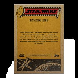 Topps DE - SW Living Set Karte #224 - Padmé Amidala