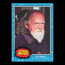 Topps Star Wars Living Set® Card #241 - Sio Bibble