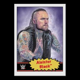 Topps DE WWE Living Set® Karte #29 - Aleister Black