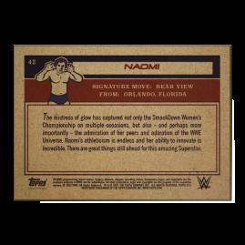Topps UK WWE Living Set® Card #42 - Naomi