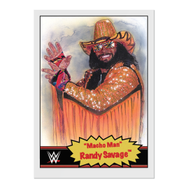 "Topps DE WWE Living Set® Karte #50 - ""Macho Man"" Randy Savage"