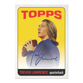 2021 Topps Trevor Lawrence - Online Exclusive