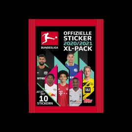 Bundesliga Sticker 20/21 - XL-Päckchen