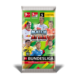 Bundesliga Match Attax 20-21 - 50er Displaybox