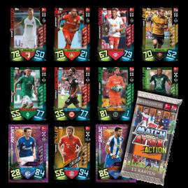 Bundesliga Match Attax Action 2019/20 Kartenpäckchen