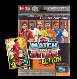Bundesliga Match Attax Action 2019/20 Starterpack