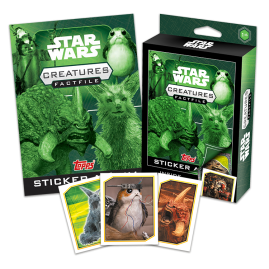 Star Wars Fact File Box - Creatures