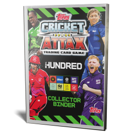 The Hundred - Cricket Attax 2021 - Collector Binder