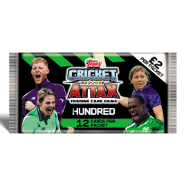 The Hundred - Cricket Attax 2021 - Packet