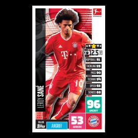 Bundesliga Match Attax 20-21 – Päckchen-Bundle mit Sane XL Karte!