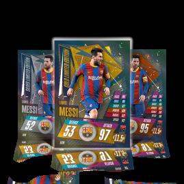 Match Attax 20/21 - Gnabry & Messi Mini-Sammeldose