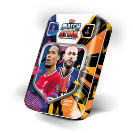 Match Attax 20/21 - Van Dijk & Neymar Mini-Sammeldose